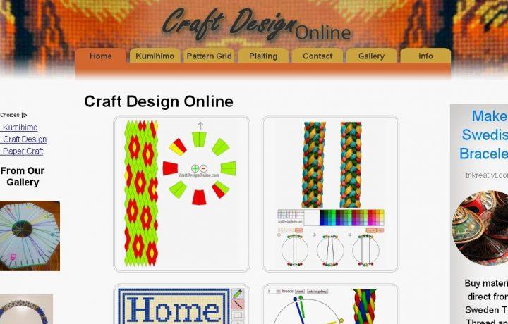 Gli schemi kumihimo: craftdesignonline.com